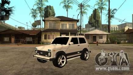 VAZ Niva 21213 Light Tuning for GTA San Andreas