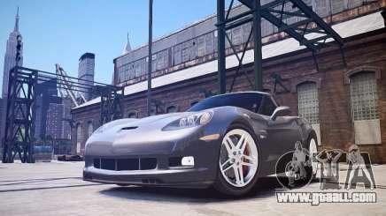 Chevrolet Corvette Z06 for GTA 4