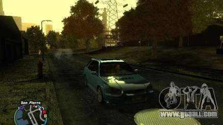 Subaru Impreza Wagon 2004 - 2002 for GTA San Andreas