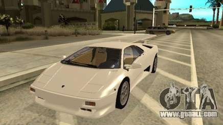 Lamborghini Diablo VT 1995 V2.0 for GTA San Andreas