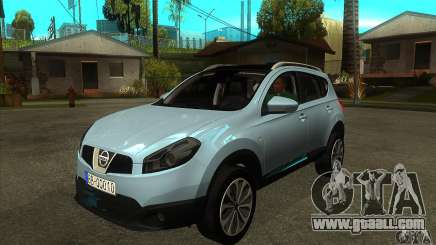 Nissan Qashqai 2011 for GTA San Andreas