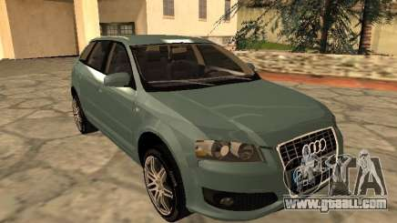 Audi S3 Sportback 2007 for GTA San Andreas