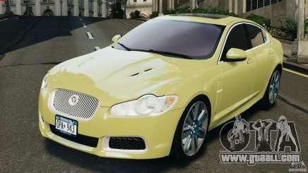 Jaguar XFR 2010 v2.0 for GTA 4