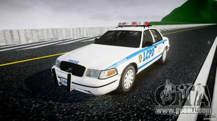 Ford Crown Victoria Police Department 2008 LCPD for GTA 4