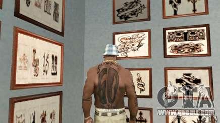50cent_tatu for GTA San Andreas