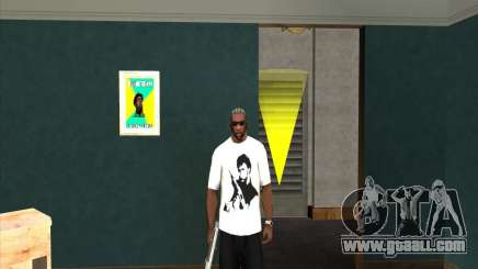 Chuck Norris t-shirt for GTA San Andreas