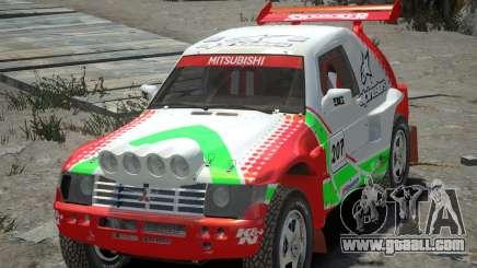 Mitsubishi Pajero Proto Dakar EK86 Vinyl 2 for GTA 4