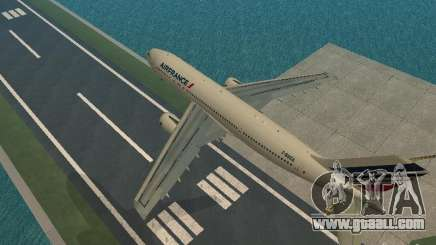 Airbus A300-600 Air France for GTA San Andreas