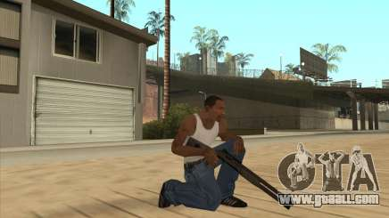 Automatic shotgun for GTA San Andreas