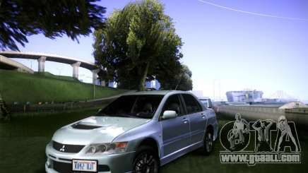 Mitsubishi Lancer Evolution VIII MR for GTA San Andreas