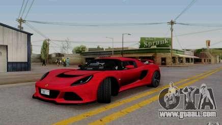 Lotus Exige S V1.0 2012 for GTA San Andreas