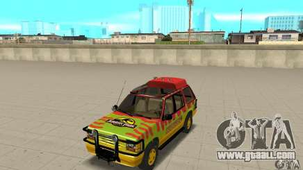 Ford Explorer (Jurassic Park) for GTA San Andreas