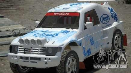 Mitsubishi Pajero Proto Dakar EK86 vinyl 3 for GTA 4