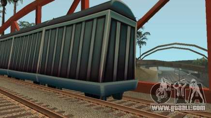 Freight car of the Subway Surfers for GTA San Andreas