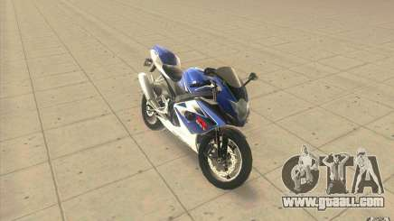 Suzuki GSXR 1000 for GTA San Andreas