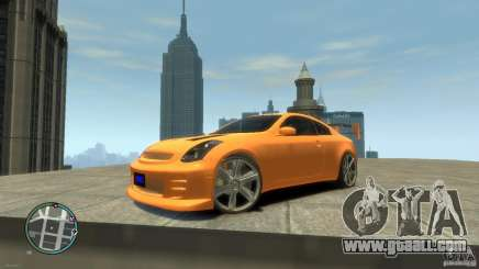 INFINITI G35 COUPE TUNNING for GTA 4
