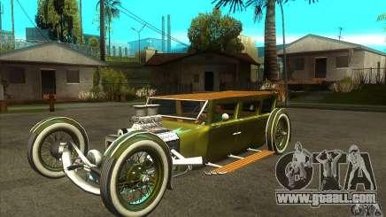 HotRod sedan 1920s for GTA San Andreas