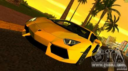 Lamborghini Aventador LP 700-4 for GTA Vice City