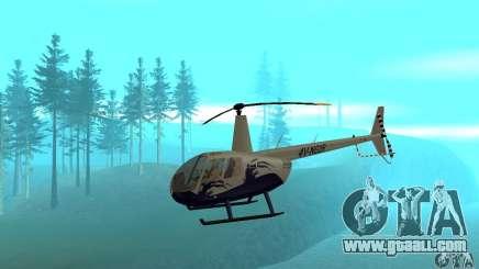 Robinson R44 Raven II NC 1.0 Skin 4 for GTA San Andreas