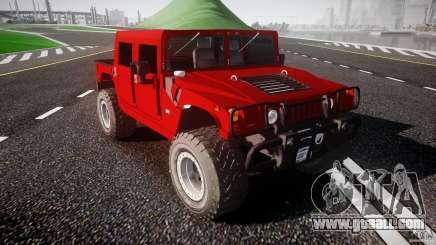 Hummer H1 4x4 OffRoad Truck v.2.0 for GTA 4