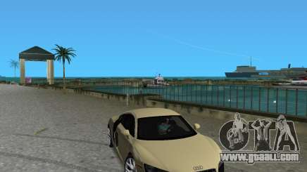 Audi R8 5.2 Fsi for GTA Vice City