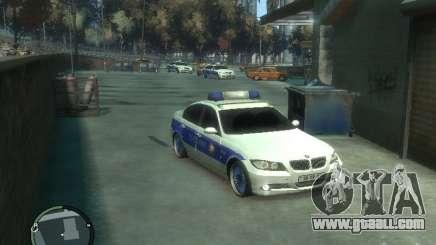 BMW 320i Police for GTA 4