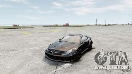 Mercedes-Benz SL65 AMG Black Series 2009 [EPM] for GTA 4
