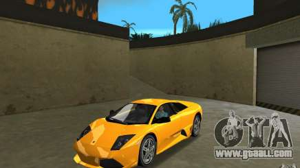 Lamborghini Murcielago LP640 for GTA Vice City