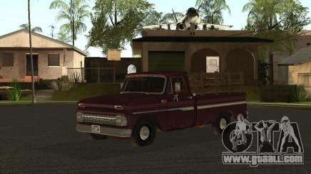 Chevrolet C 10 for GTA San Andreas