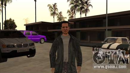 Skin is a member of the mafia for GTA San Andreas