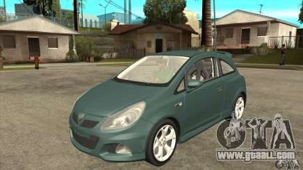 Vauxhall Corsa VXR for GTA San Andreas