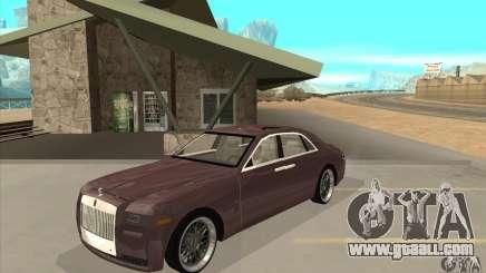 Rolls-Royce Ghost 2010 for GTA San Andreas