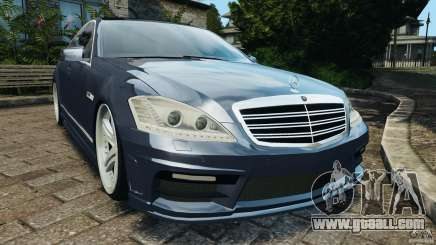 Mercedes-Benz S W221 Wald Black Bison Edition for GTA 4