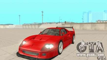 Ferrari F40 Competizione for GTA San Andreas