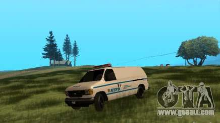 Ford E-150 NYPD Police for GTA San Andreas
