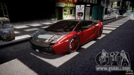Lamborghini Gallardo Superleggera 2007 (Beta) for GTA 4