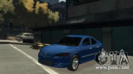 Mazda 3 sedan 2008 for GTA 4