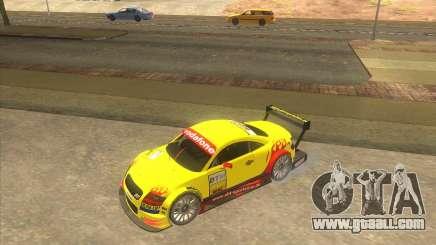 Audi TTR DTM racing car for GTA San Andreas