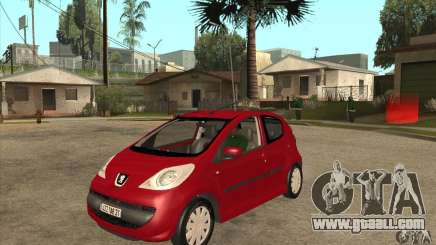 Peugeot 107 for GTA San Andreas