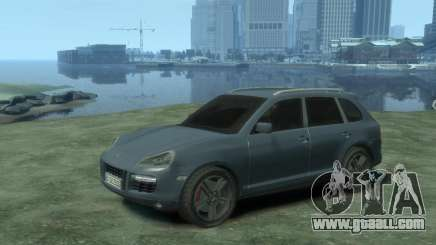PORSCHE Cayenne turbo S 2009 for GTA 4