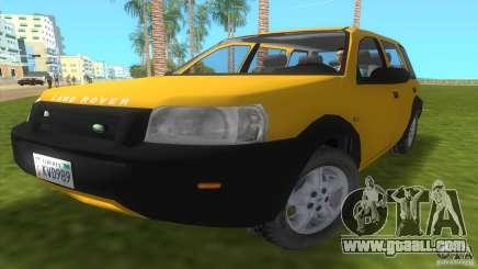 Land Rover Freelander for GTA Vice City
