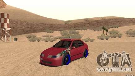 Seat Toledo 1999 Tuned for GTA San Andreas