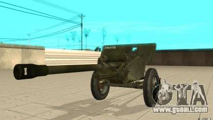 The ZiS-3 gun for GTA San Andreas
