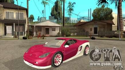 Ascari KZ-1 for GTA San Andreas