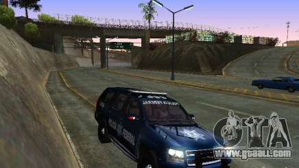 Chevrolet Tahoe 2008 Police Federal for GTA San Andreas