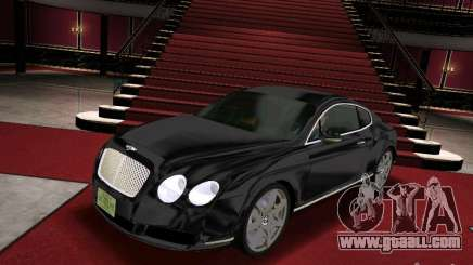 Bentley Continental GT for GTA Vice City
