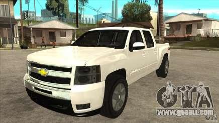 Chevrolet Cheyenne 2011 for GTA San Andreas