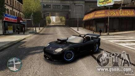 Blue Neon Banshee for GTA 4
