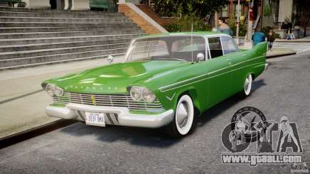 Plymouth Belvedere 1957 v1.0 for GTA 4