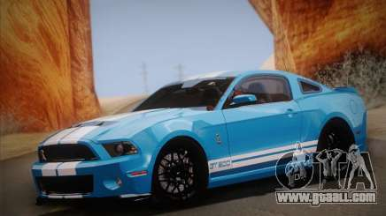 Ford Shelby GT500 2013 for GTA San Andreas